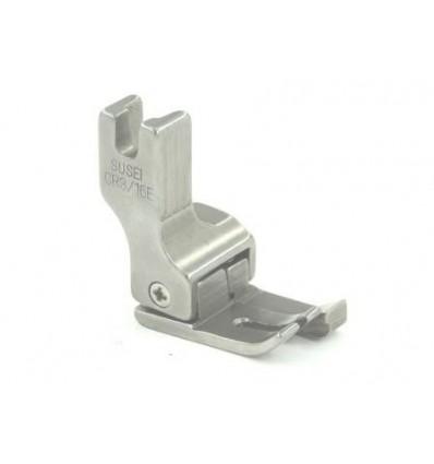 Лапка для отстрочки подпружиненная с ограничителем правая CR 3/16E