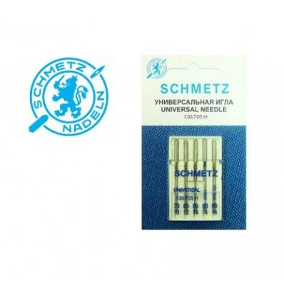 Иглы Schmetz набор №70-90 универсальные/джинс/стрейч