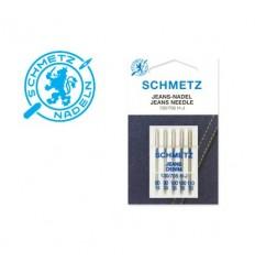 Иглы Schmetz джинс №90-110, набор