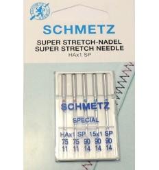 Иглы Schmetz супер стрейч №75-90, набор