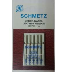 Иглы Schmetz  для кожи №80-100, набор