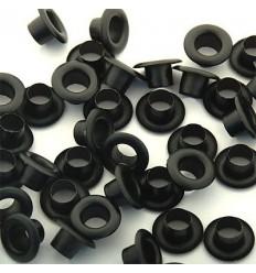 Блочка D-5 с кольцом, оксид (100 шт)