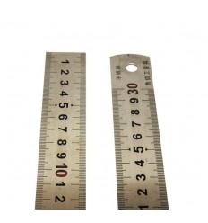 Линейка металлическая 30 см