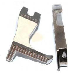"""Лапки с ограничителем 5/32"""" 4 мм для двойного продвижения"""