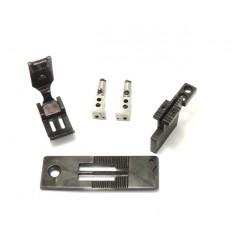 Сменный комплект для 2-х игольных машин с отключением B845 6.4 мм 1/4