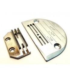 Игольная пластина E-16 (зубья T 40 в комплекте)