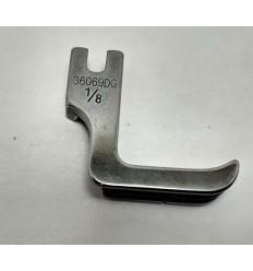 Лапка для вшивания 2-х шнуров (кеддеров) 36069DG 1/8 (1214)