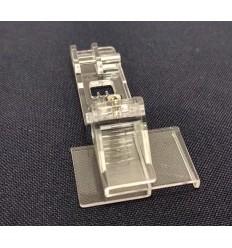Лапка прозрачная для кружева с направляющей для распошивалки