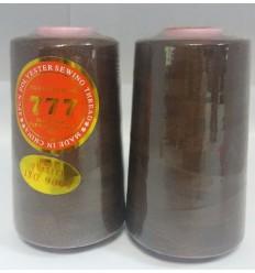 Нитки 777 40/2 колір коричневий