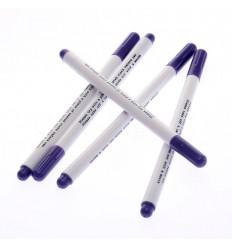 Маркер для тканини Adger змивний (фіолетовий)