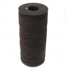 Резинка капелюшна колір коричневий, 1м