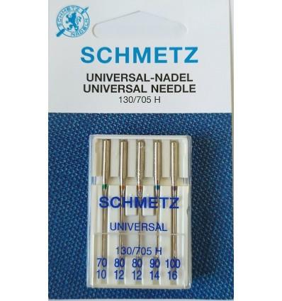 Иглы универсальные Schmetz набор №70-100 (5 шт)