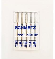 Иглы Schmetz набор универсальные + супер стрейч
