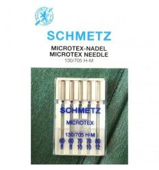 Иглы Schmetz Microtex №60-80, набор