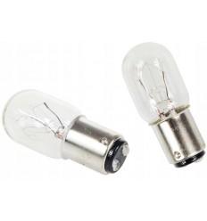 Лампочка для швейної машини двоконтактна 15W