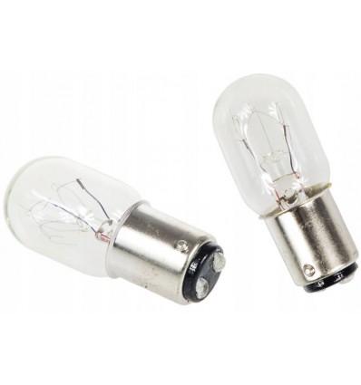 Лампочка для швейной машины двухконтактная