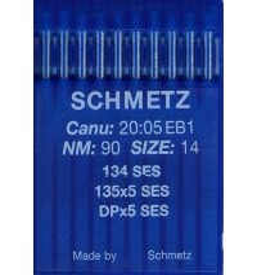 Голки Schmetz DPx5 SES для промислових швейних машин