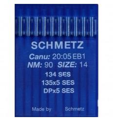 Иглы Schmetz DPx5 SES для промышленных швейных машин