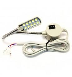 Светодиодный светильник с гибкой стойкой 10 диодов FSM-810