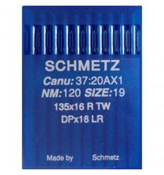 Иглы Schmetz DPx16 LR для кожи