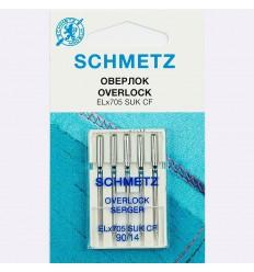 Иглы Schmetz для оверлока Overlok EL*705 SUK СF №90