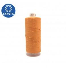 Нитки Coats Astra №30 джинсові, 1000 m (2429) помаранчевий