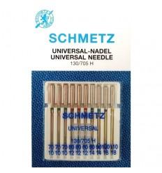 Иглы Schmetz универсальные №70-110, набор 10 шт