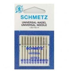 Иглы Schmetz универсальные №60-110, набор 10 шт