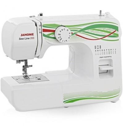 Швейна машина Janome Sew Line 200