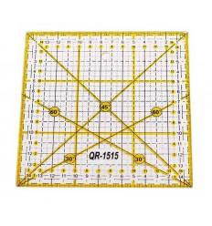 Лінійка для печворку 15х15 см (QR-1515)